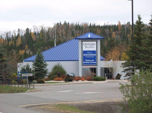 Pigeon River Ontario Travel Information Centre